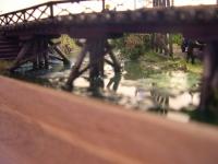 """Макет """"Ремонт моста"""" Н0e 1:87"""